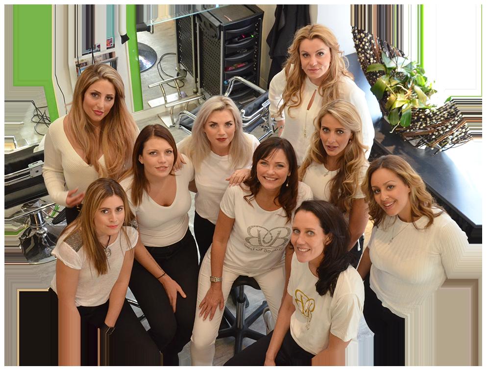 Salong Beautechs team i Sundbyberg
